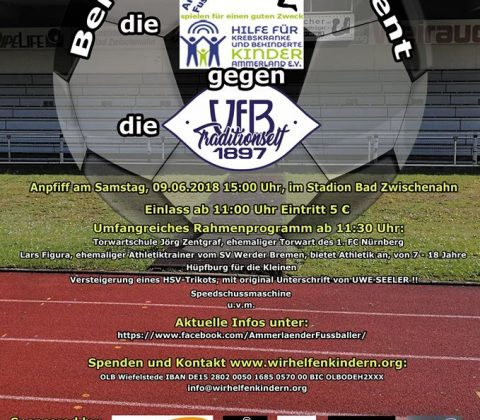 Benefiz-Fußball Event, 9.6.2018